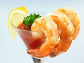 shrimp martini cocktail
