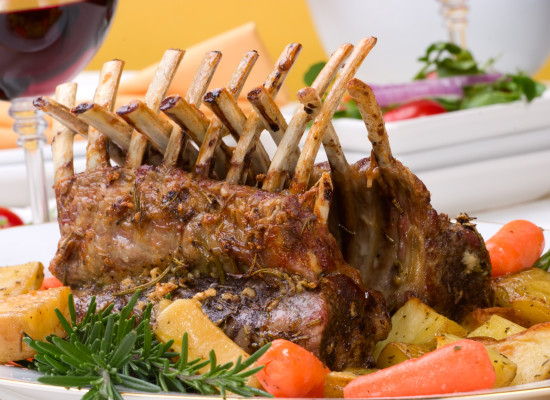 Roast Rack Of Lamb - 2 Chefs 4 you